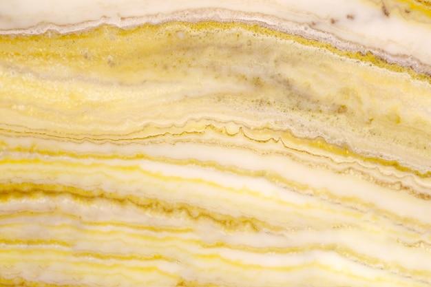 黄色の大理石のテクスチャ背景空白