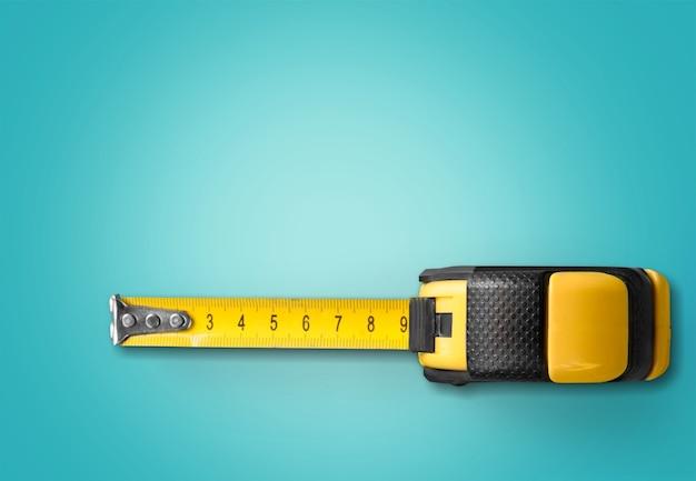 Желтая измерительная лента