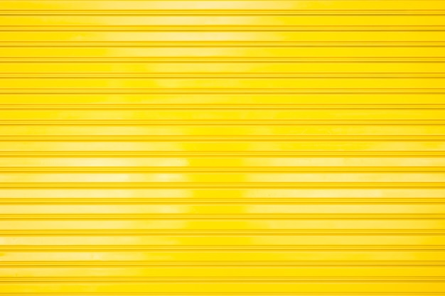 Yellow metal gate for texture and