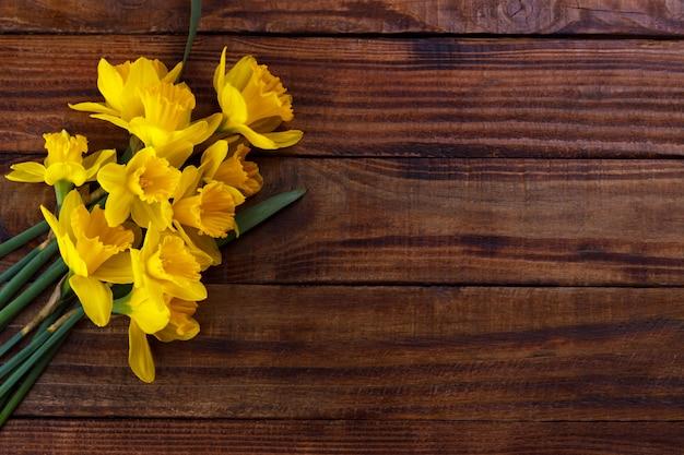 黄色の水仙または水仙
