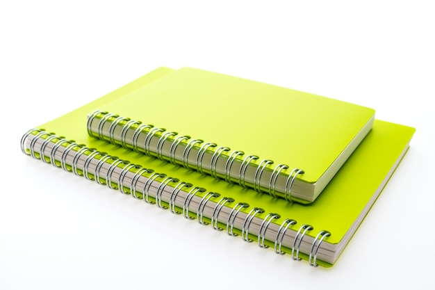 Yellow notebooks