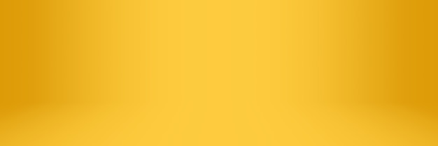 Yellow and orange soft gradient abstract studio and showroom background