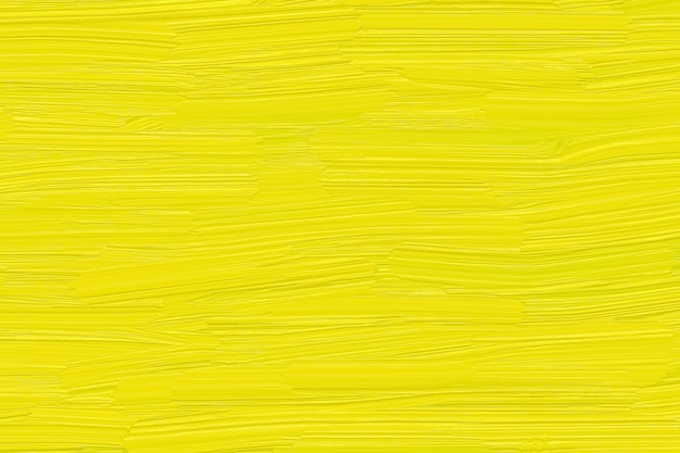 Yellow paint on smeared texture, bright aquarelle, summer color trend on the wall, abstract art canvas, pattern.
