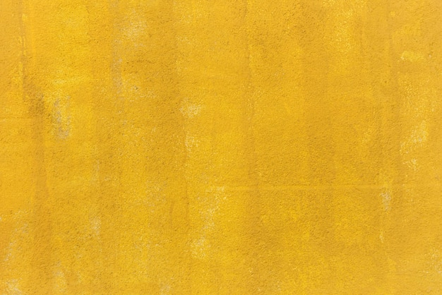 Yellow painted wall background