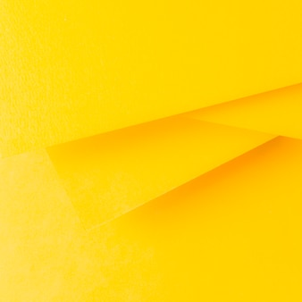 Yellow paper background in minimalist style