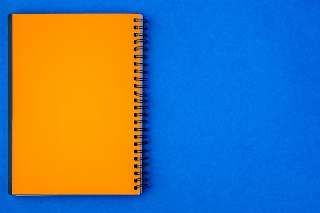 Yellow paper note on a blue background
