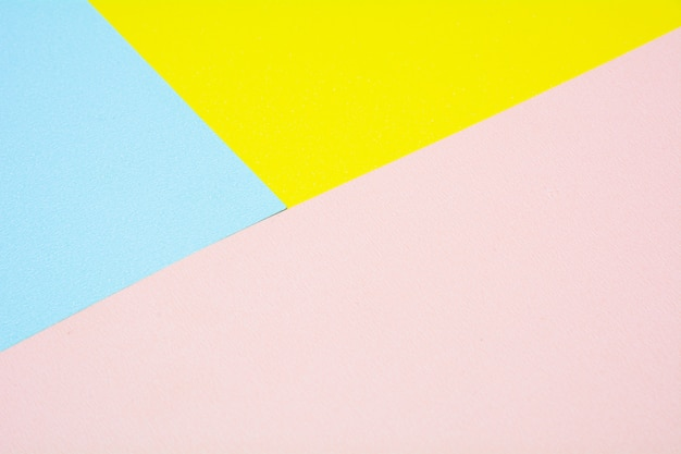 Yellow, pink and blue paper texture