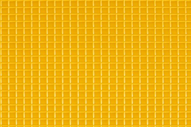 Yellow plastic checkered pattern