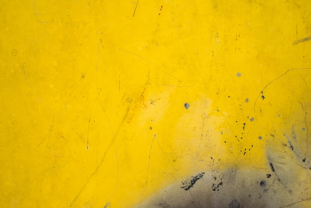 Yellow plate steel metal rusty texture for background