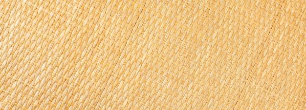 Yellow rattan texture.