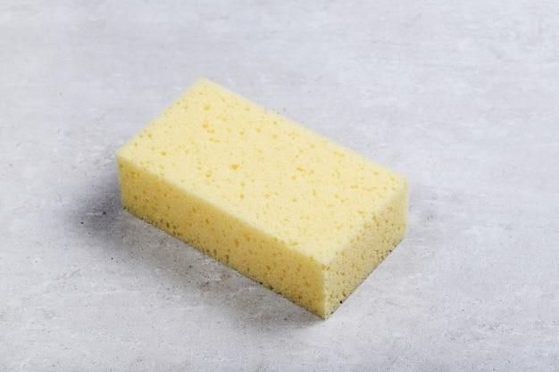 Spugna rettangolo giallo