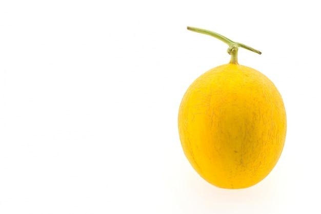 Yellow round melon