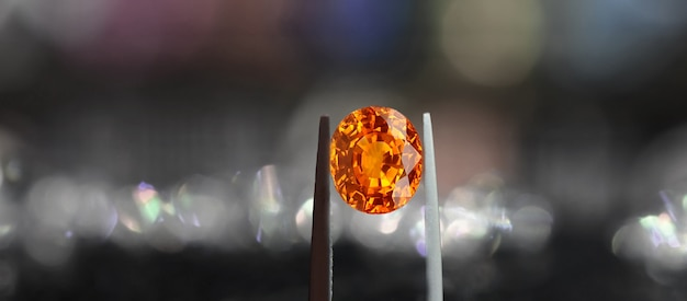 Yellow sapphire is a natural yellow gemstone rare and expensive