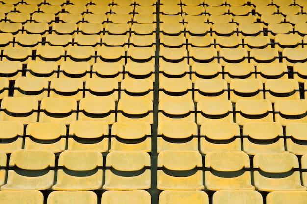 Yellow seat stadium