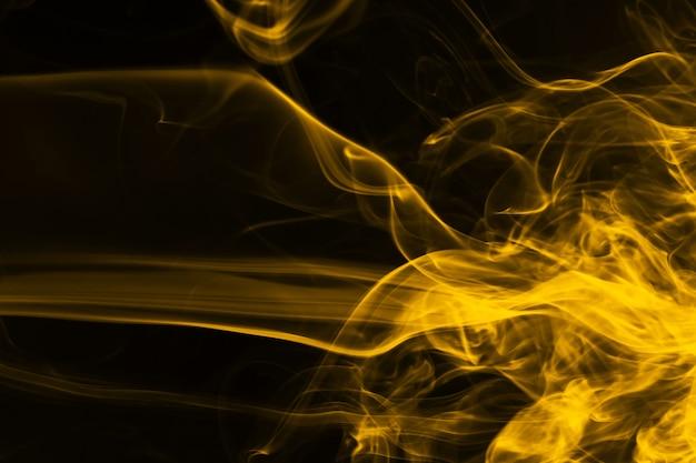 Yellow smoke