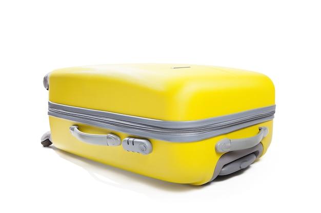흰색 절연 노란색 가방