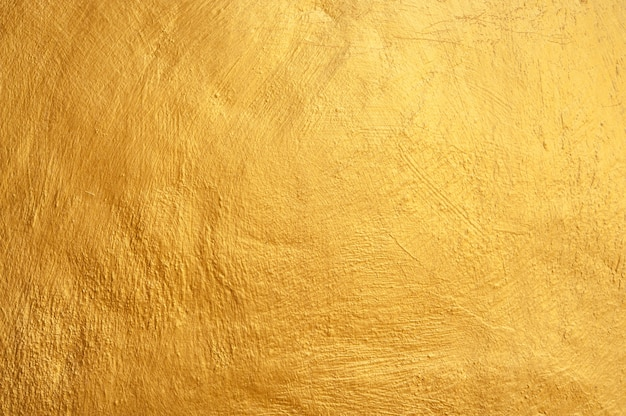 Yellow wall texture with scratches