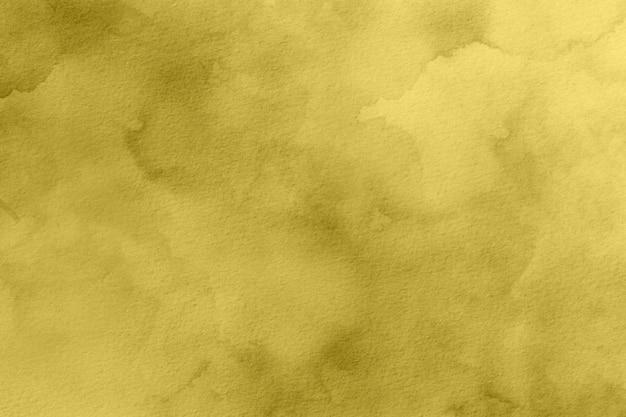 黄色の水彩背景デジタル
