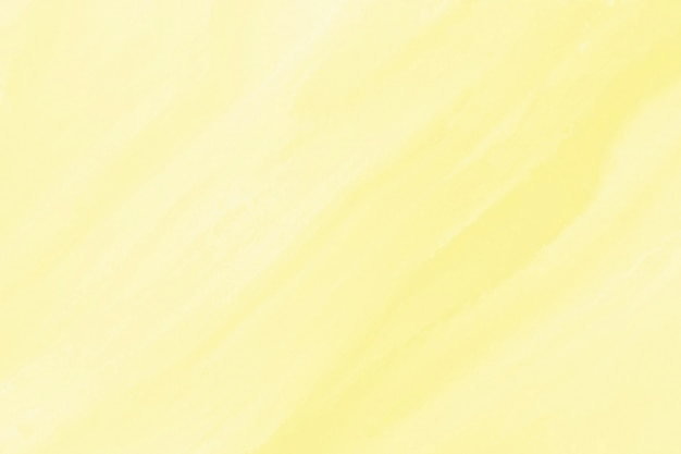 Yellow watercolor texture background