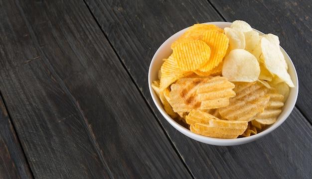 Yellow white diet spicy crunchy