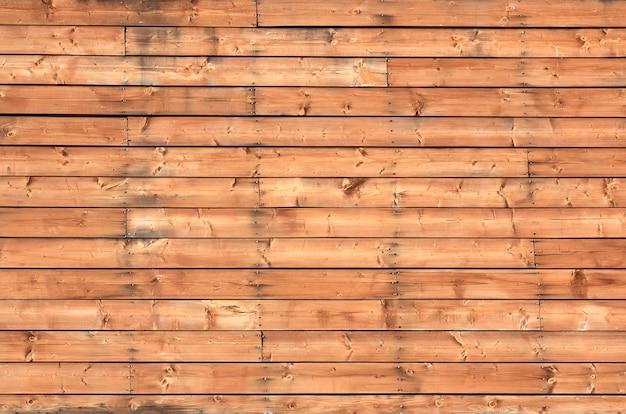 노란 나무 판자 벽 질감 배경
