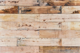 Yellow wooden table background texture.