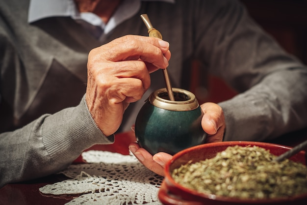 Yerba mate, the traditional tea from argentina