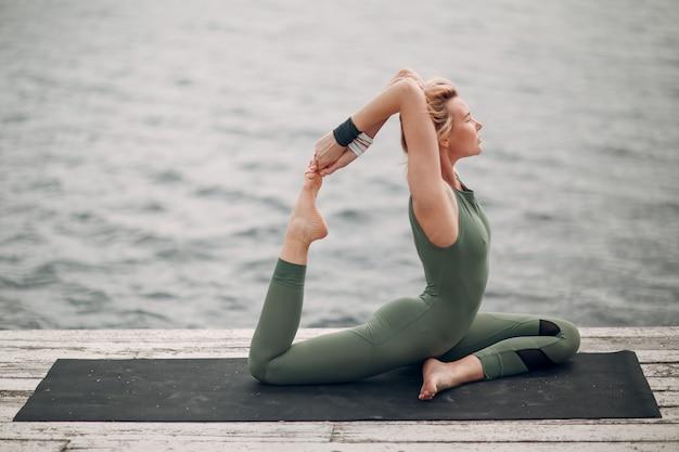 Yoga woman zen