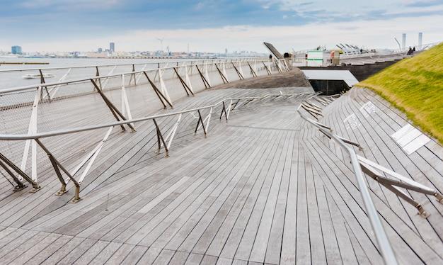 Yokohama osanbashi pier, japan