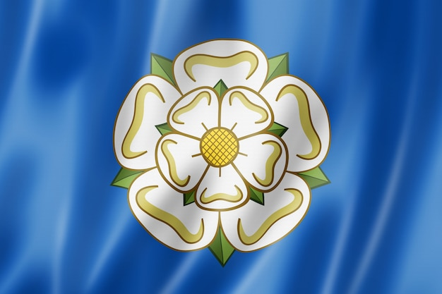 Yorkshire county flag, uk