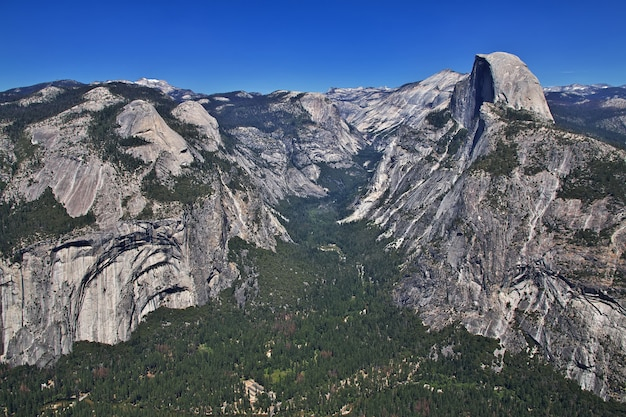 Yosemite national park in california of united states