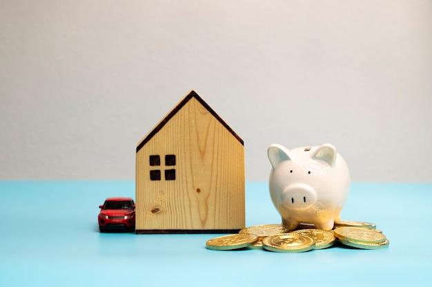 あなたは家や車のような財産が欲しいあなたはそれらを買うためにお金を節約しなければなりませんあなたは集めなければなりません