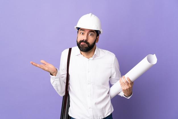 Молодой архитектор человек
