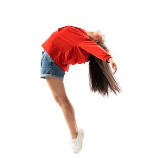Young asian dancer