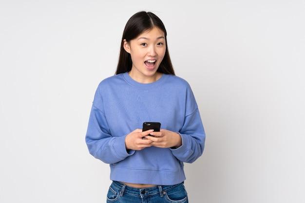 젊은 아시아 여성