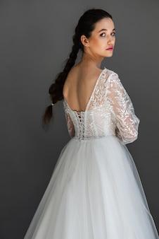 Young bride portrait