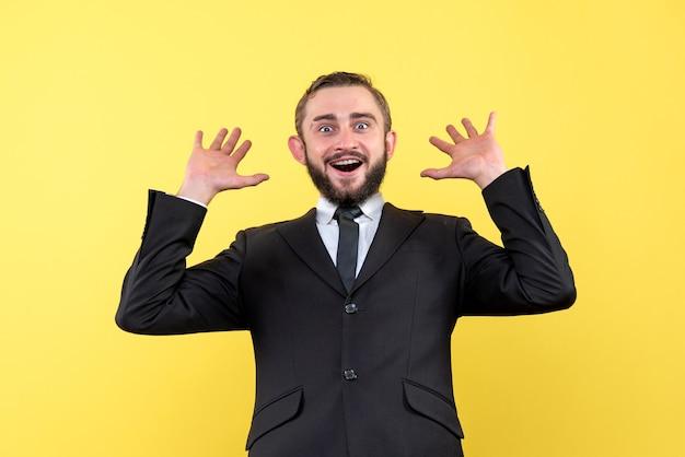 Молодой бизнес-трейдер поражен успешными результатами