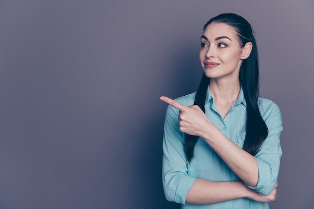 若いビジネス女性の肖像画
