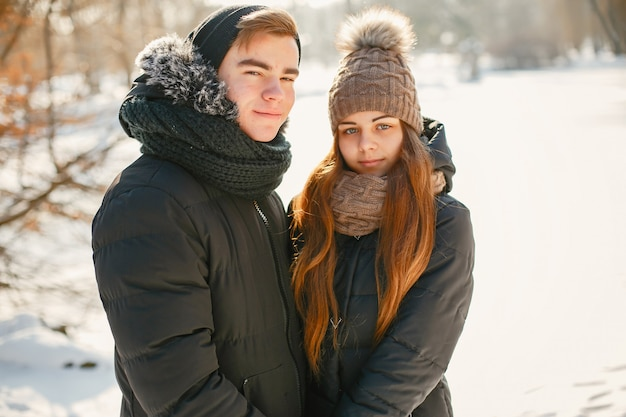 Young couple