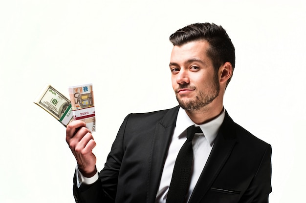 Young guy businessman