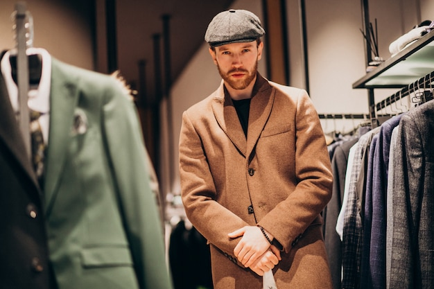 man wearing a sports coat