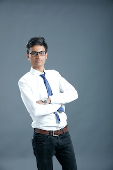 Young indian college student