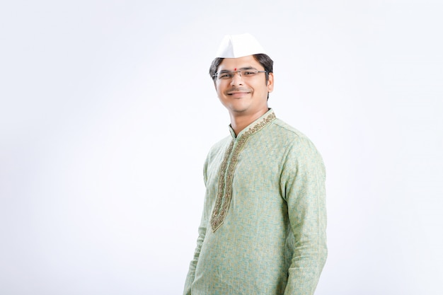 Young indian on traditional wear