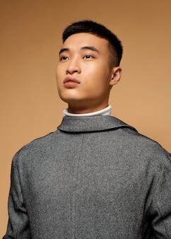 Портрет молодого японца