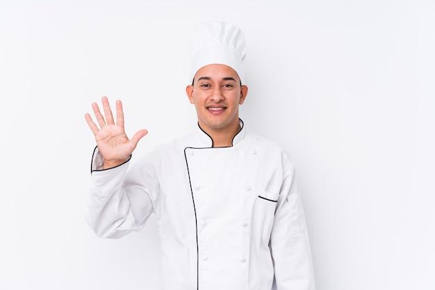 Молодой латинский шеф-повар