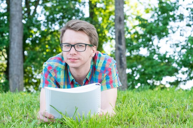 若い男の読書