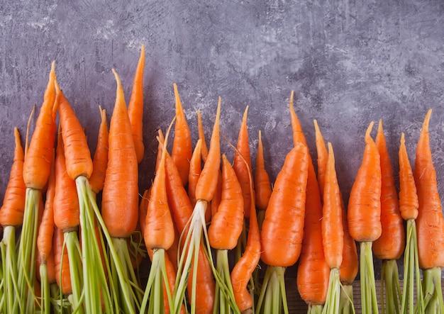 Young mini carrot