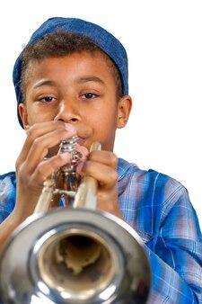 Молодой музыкант.