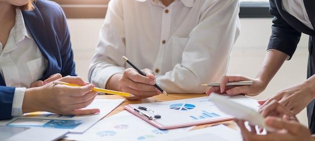 ビジネスの若者会議会議ディスカッション企業コンセプト