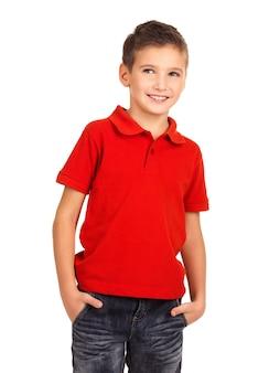 Young pretty boy posing as a fashion model.
